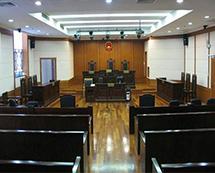 刑事案件庭审现场